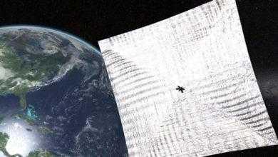 Фото Солнечный парус LightSail 2 может пролететь прямо над вами. Как его увидеть?