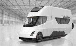 Vanlifer продемонстрировала концепт автодома на базе Tesla Semi