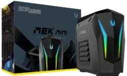 ZOTAC оснастила компьютер MEK Mini ускорителем GeForce Super