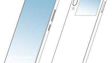 Фото ZTE предложила ещё один вариант смартфона с дисплеями на противоположных сторонах