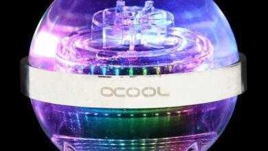 Photo of Alphacool Eisball: оригинальный резервуар-сфера для СЖО