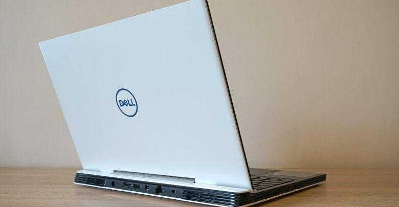 Фото Dell G5 5590: один из самых доступных игровых ноутбуков с RTX 2060
