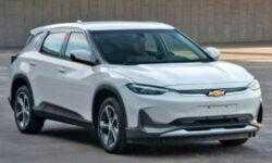 Электрический кроссовер Chevrolet Menlo EV готовится к выходу на китайском рынке