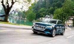 Электромобиль Audi e-tron пересёк за сутки десять стран