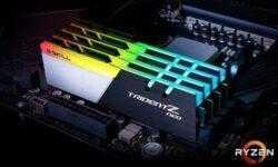 G.Skill представила оптимизированные для Ryzen 3000 модули DDR4-3800