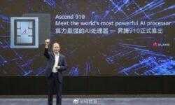 Huawei представила ИИ-процессор Ascend 910 и новый фреймворк Mindspore