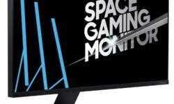Игровая панель Samsung Space Gaming Monitor умеет прижиматься к стене