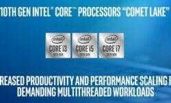 Intel анонсировала мобильные Comet Lake: до шести ядер в тонких ноутбуках и Wi-Fi 6