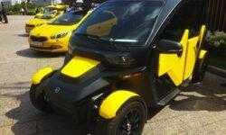 «Калашников» показал необычный электрокар для сервисов такси