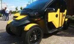 «Калашников» представил новый электромобиль. Неужели это будущее российского такси?