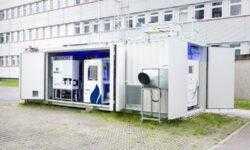 Немцы представили мобильную установку для добычи топлива из воздуха