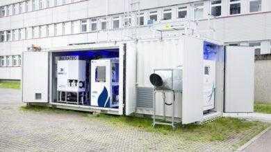 Фото Немцы представили мобильную установку для добычи топлива из воздуха