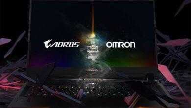 Фото Новый ноутбук Aorus 17 оснащён клавиатурой с переключателями Omron