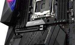Плата ASUS ROG Strix X299-E Gaming II снабжена OLED-дисплеем LiveDash