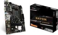 Плата Biostar X470MH формата Micro-ATX рассчитана на процессоры AMD Ryzen
