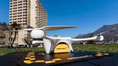 Фото После падения 10-кг дрона возле детей приостановлена программа по доставке с помощью беспилотников в Швейцарии