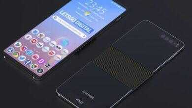 Фото Samsung раздумывает над смартфоном, изгибающимся в противоположные стороны