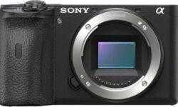 Sony представила две сверхбыстрые беззеркалки: A6600 и A6100