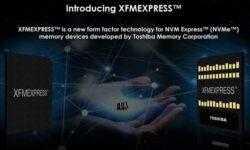 Toshiba XFMExpress: новый стандарт твердотельных накопителей для компактных устройств