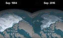В Арктике идет снег с частичками пластика
