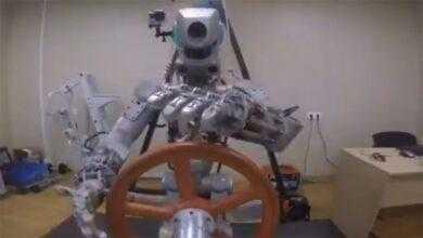 Фото Видео дня: робот «Фёдор» готовится к первому полёту