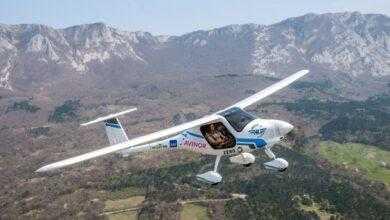 Фото #видео   Первый в мире самолет с электрическим двигателем потерпел крушение