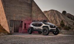 Audi представила внедорожник без фар. Его путь освещают летающие дроны