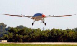 Беспилотный заправщик Boeing MQ-25 завершил первый испытательный полёт