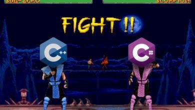 Фото C++ против C#