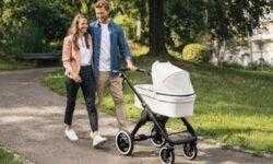 Электрическая детская коляска с технологией Bosch позволит без труда двигаться в гору
