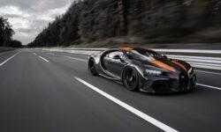 Гиперкар Bugatti Chiron преодолел рубеж скорости 300 миль/ч