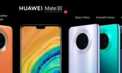 Huawei представила флагманы Mate 30 и 30 Pro, несмотря на проблемы с Google