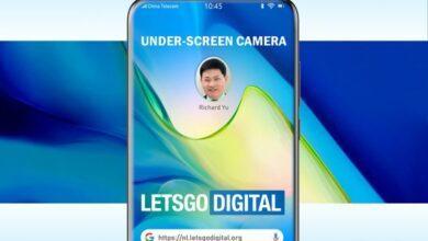 Фото Huawei хочет спрятать за дисплей смартфона камеру, вспышку и датчики