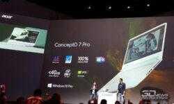 IFA 2019: ноутбук Acer ConceptD 7 Pro с ускорителем Quadro RTX 5000 и экраном 4K