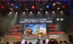 Игровой ноутбук ASUS ROG Zephyrus SGX701 стал первым в мире с 300-Гц экраном, но это лишь начало