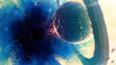 Фото Планеты могут вращаться вокруг черных дыр