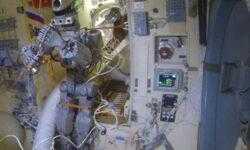 Робот Фёдор покинул МКС и вернулся на Землю