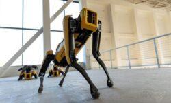 Робот Spot от Boston Dynamics покидает пределы лаборатории