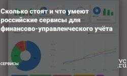 Сколько стоят и что умеют российские сервисы для финансово-управленческого учёта