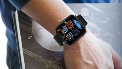 Фото Смарт-часы Lenovo Carme оснащены 1,3″ дисплеем и датчиком ЧСС