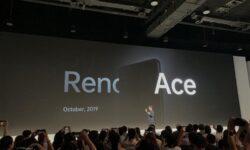 Смартфон OPPO Reno Ace получит быструю 65-ваттную зарядку