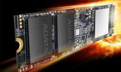 SSD-накопители XPG SX8100 М.2 обеспечивают скорость чтения до 3500 Мбайт/с