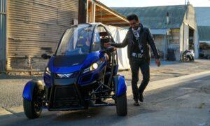 Трёхколёсный электромобиль Arcimoto SRK поступил в продажу
