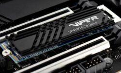 Твердотельные накопители Patriot Viper VP4100 используют интерфейс PCIe 4.0