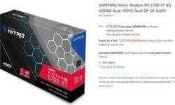 Видеокарта Sapphire Radeon RX 5700 XT Nitro+ замечена в интернет-магазине