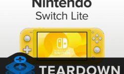 Вскрытие Nintendo Switch Lite: карманную игровую консоль можно починить