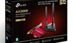 Адаптер TP-Link Archer TX3000E обеспечивает поддержку Wi-Fi 6 и Bluetooth 5.0