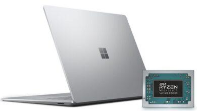 Фото AMD Ryzen 7 3780U Microsoft Surface Edition: кастомный процессор дляSurface Laptop 3