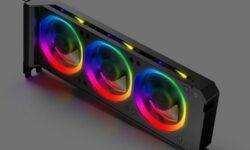 Anidees RGB VGA Cooler: дополнительные вентиляторы с RGB-подсветкой для видеокарты
