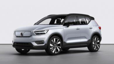 Фото Анонсирован электромобиль Volvo XC40 Recharge мощностью 408 л. с.